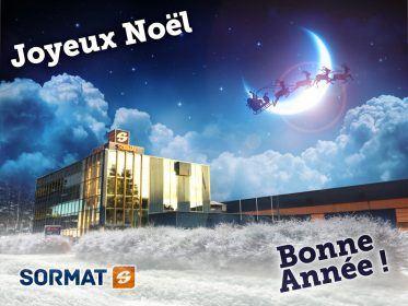 Le personnel de Sormat vous souhaite de Joyeuses Fêtes!